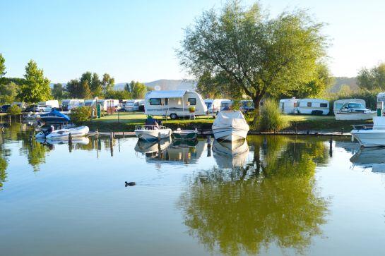 Camping an Deutschlands schönsten Seen