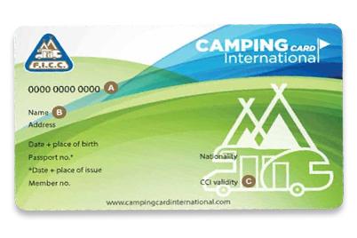Die Camping Card International