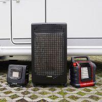 Mobile Gasheizer für Vorzelt und Außenbereich