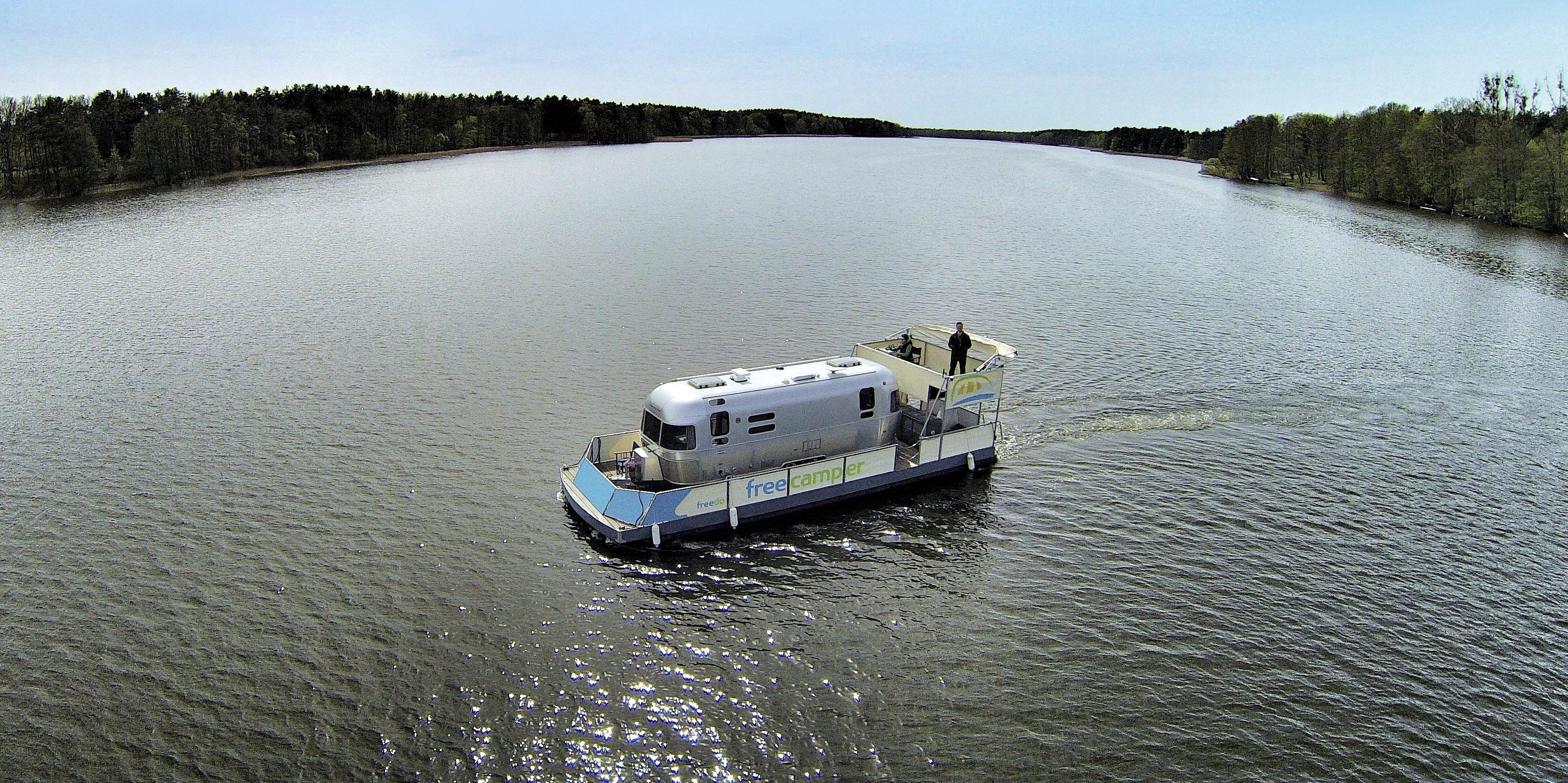 <span>Mit dem Reisemobil oder Caravan aufs Wasser</span>