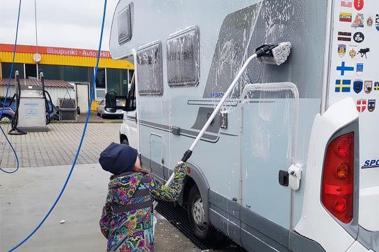 Frühjahrsputz für Wohnmobil und Wohnwagen