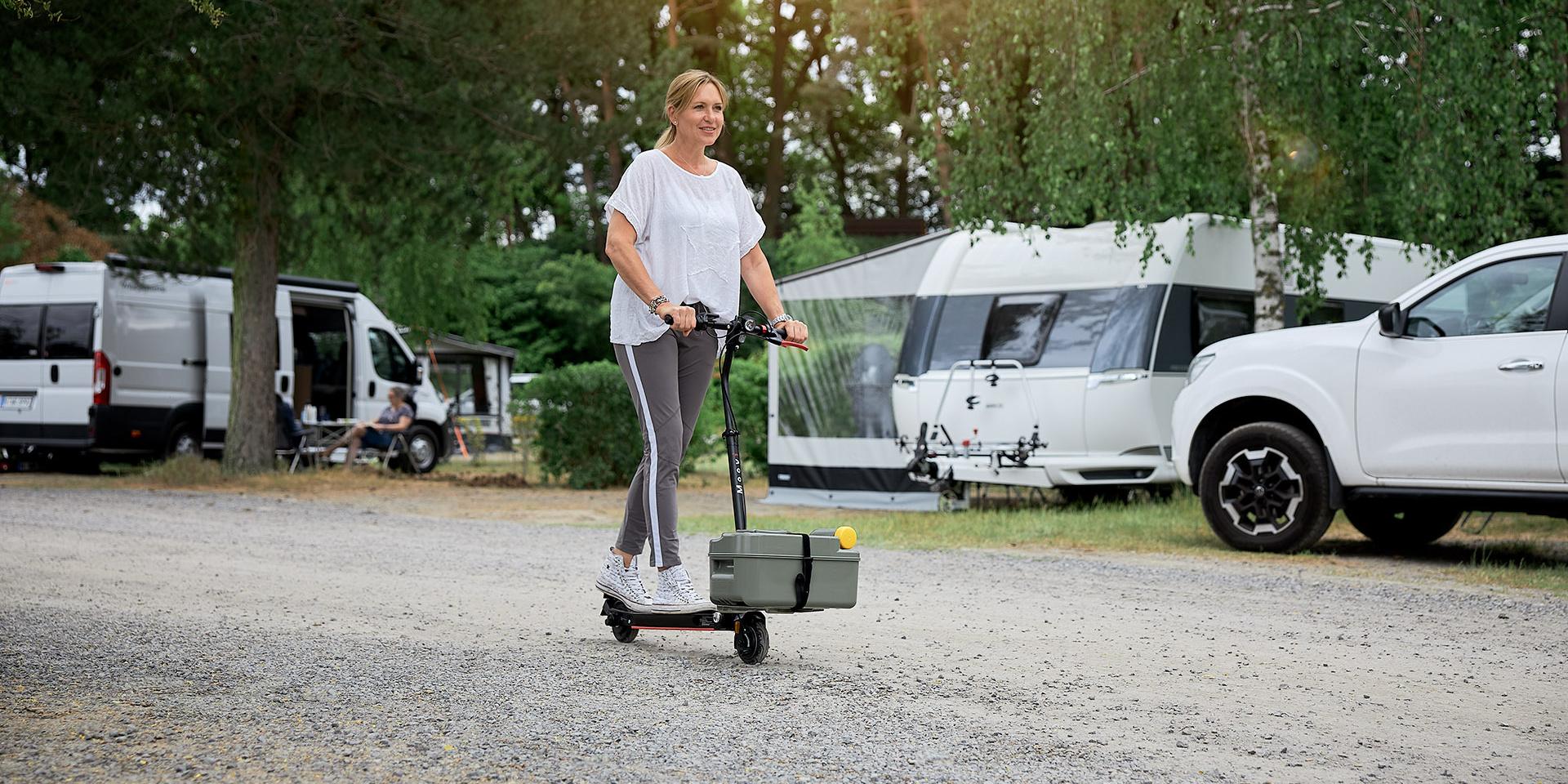 <span>E-Scooter für den Campingurlaub</span>