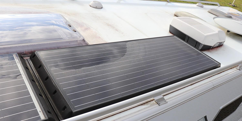<span>Solaranlage für Wohnwagen & Wohnmobil</span>