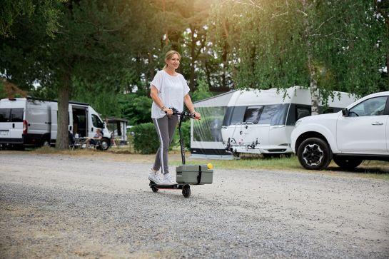 E-Scooter für den Campingurlaub