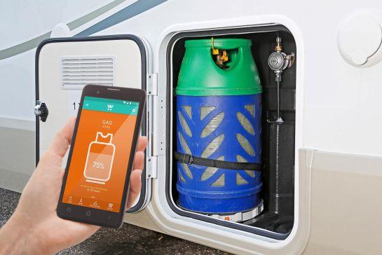 Smartes Campingzubehör mit App