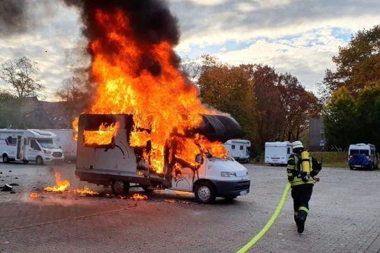 Rauchmelder und Brandschutz im Camper