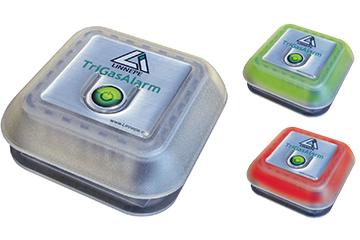 TriGas-Warner mit optischem und akustischem Alarm