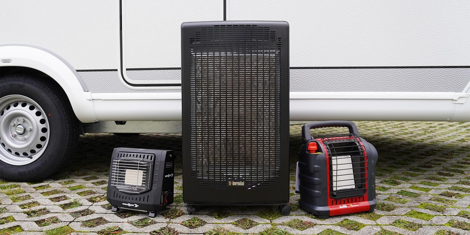 <span>Mobile Gasheizer für Vorzelt und Außenbereich</span>