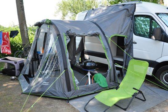 Produkttest - Berger Reisemobilvorzelt Touring Easy XL