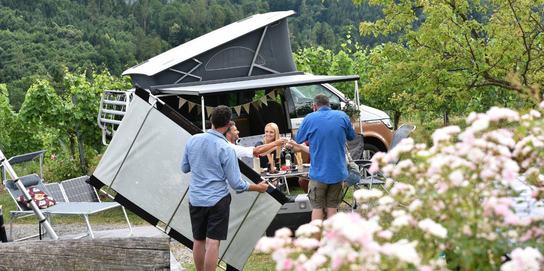 <span>Fotoshooting im Campingland Steiermark</span>
