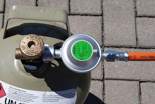 Wofür brauche ich einen Gasdruckregler beim Campen?
