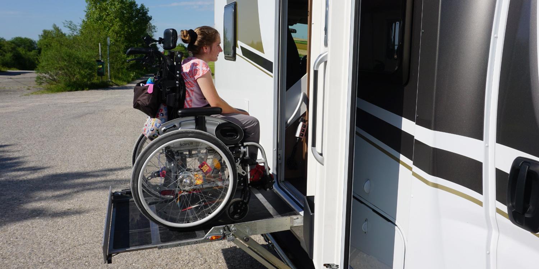 <span>Behindertengerechter Campingurlaub</span>