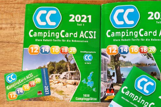 ACSI Campingführer und CampingCard im Check