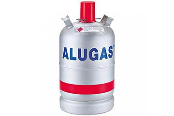 Gasflasche Aluminium 11 kg (unbefüllt)
