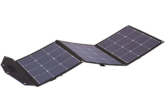 Das Berger Smart Travel Solar ist ein leichtes und kompaktes Faltmodul