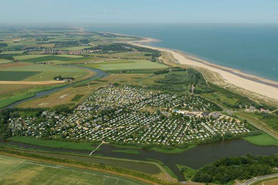 Campingplätze am Meer in den Niederlanden