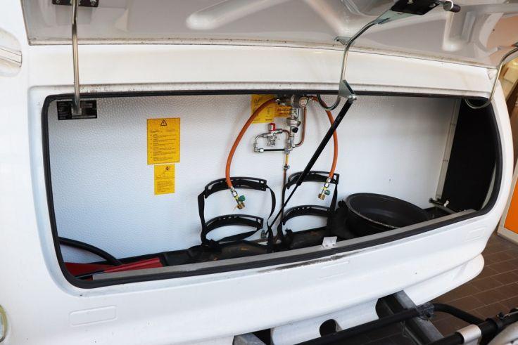 <p>Wohnwagen Gasanlage für 2 Gasflaschen</p>