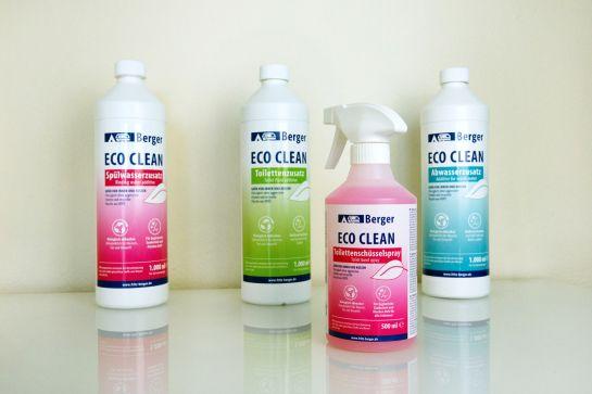 Neu: Berger Eco Clean Sanitärzusätze
