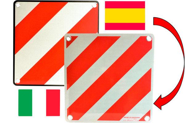 Kombitafel für Italien und Spanien