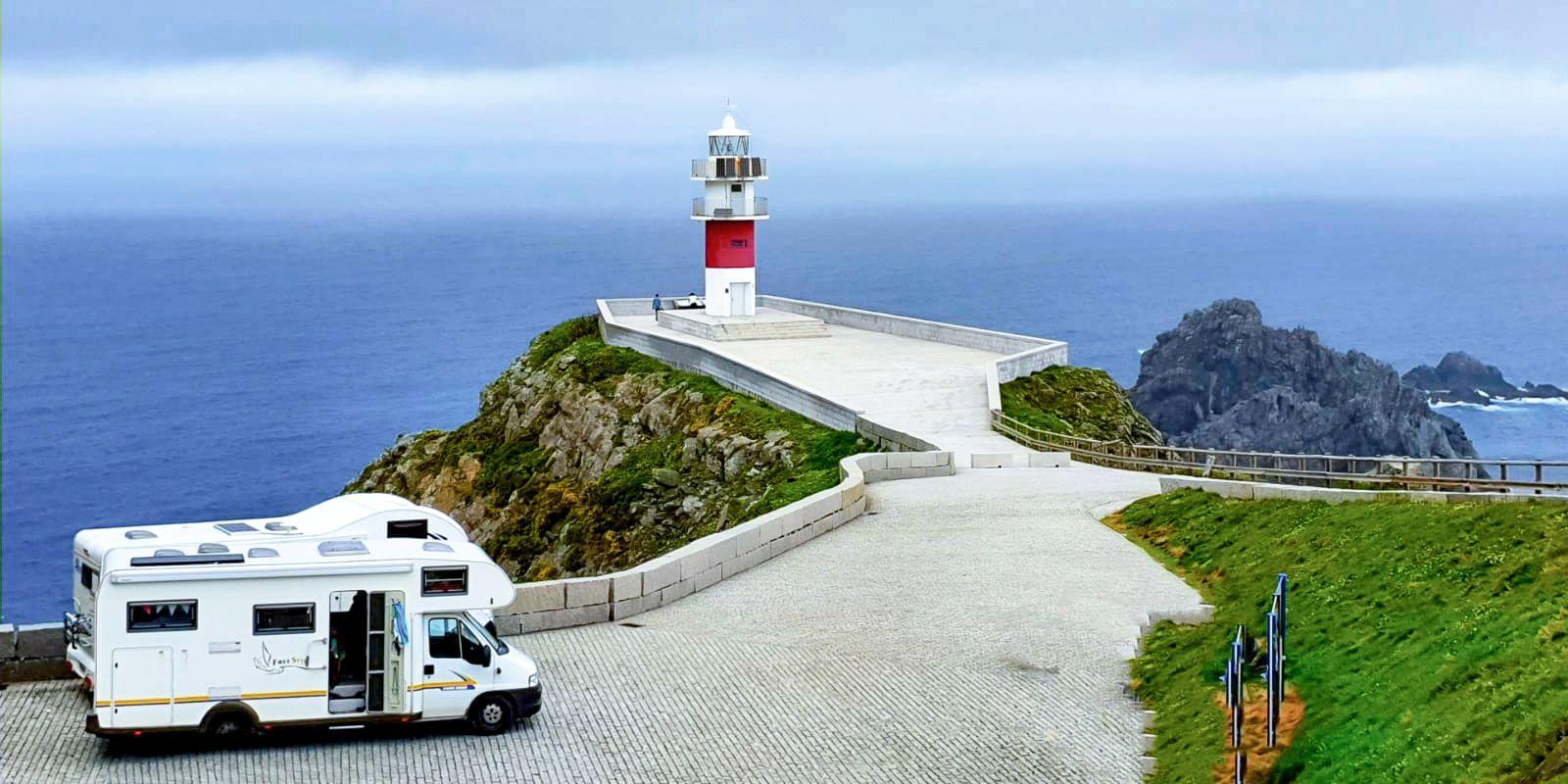<span>Wohnmobilreise entlang der Atlantikküste Spaniens bis nach Portugal - Teil I</span>