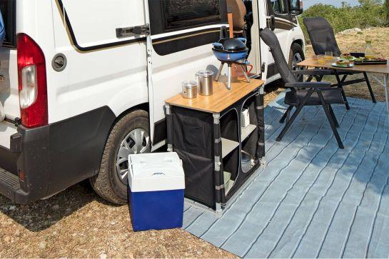 Campingschränke für mehr Ordnung und Stauraum