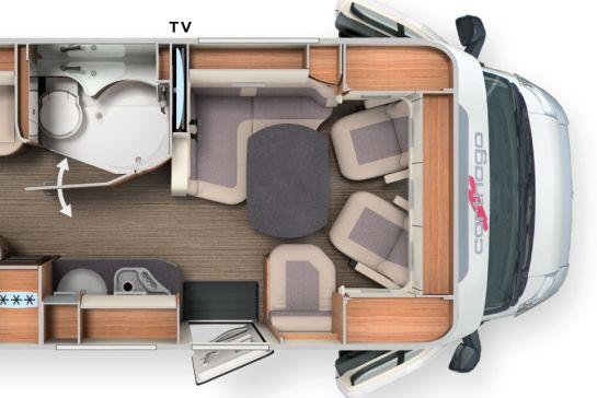 Wohnmobil-Grundrisse im Überblick