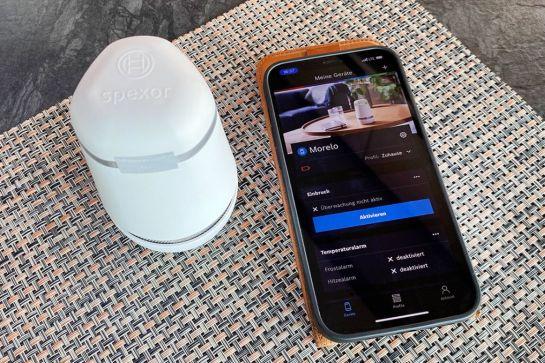 Produkttest - Bosch Spexor Alarmgerät