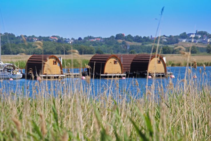 Hausboote auf dem Wasser