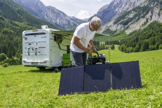 Mobile Solaranlagen für den Campingurlaub