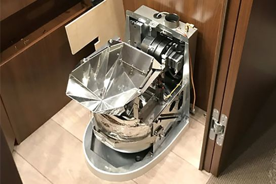 Verbrennungstoilette in Wohnmobil und Wohnwagen