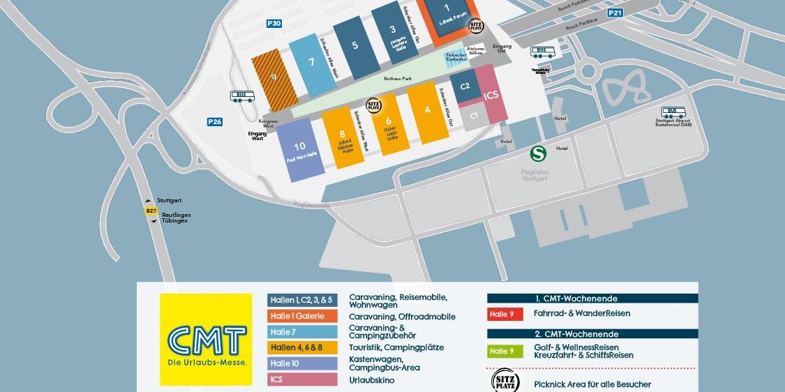 <span>Die CMT Stuttgart 2020</span>