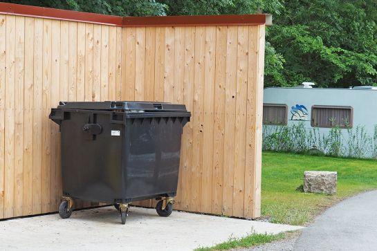 Müllentsorgung im Campingurlaub