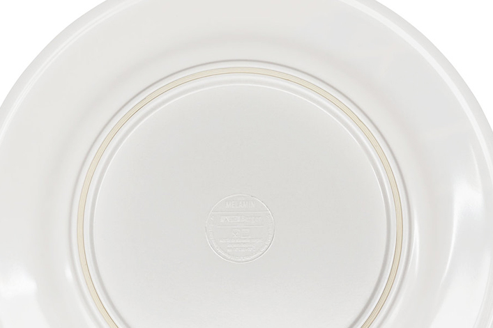 <p>Anti-Rutsch-Ring auf der Tellerunterseite</p>