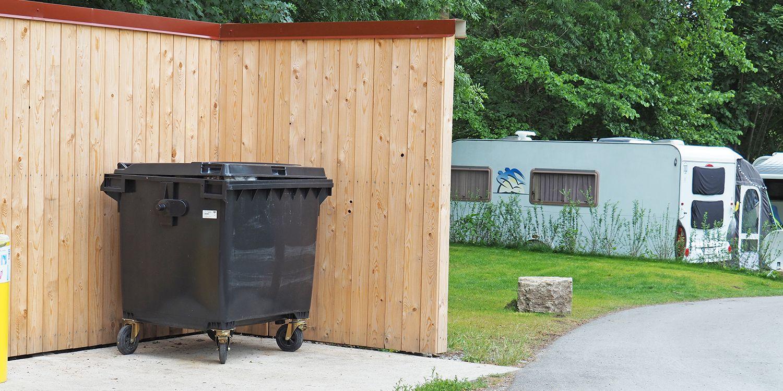 <span>Müllentsorgung im Campingurlaub</span>