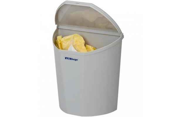 Einbau-Mülleimer können mit einem Deckel verschlossen werden