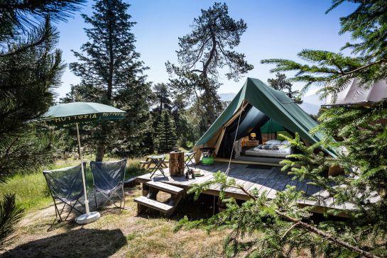 Glamping in Deutschland - Die luxuriöse Art, zu Campen