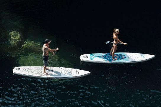 Stand-up-Paddling: der ideale Wassersport für Camper