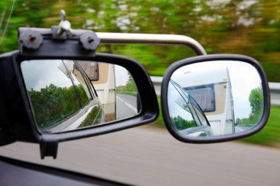 Caravanspiegel: mehr Rücksicht durch Zusatzspiegel
