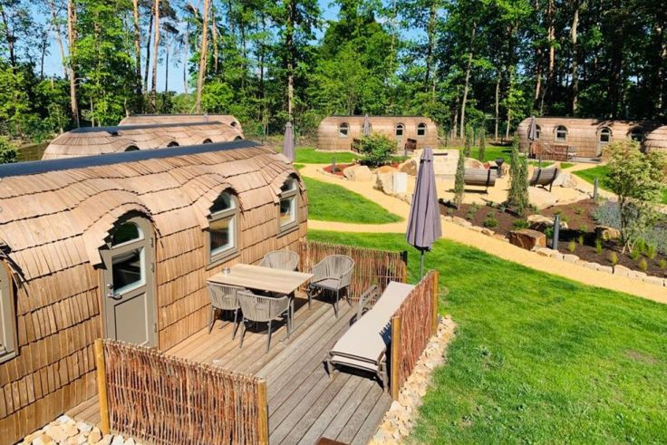 Iglus auf dem Campingplatz
