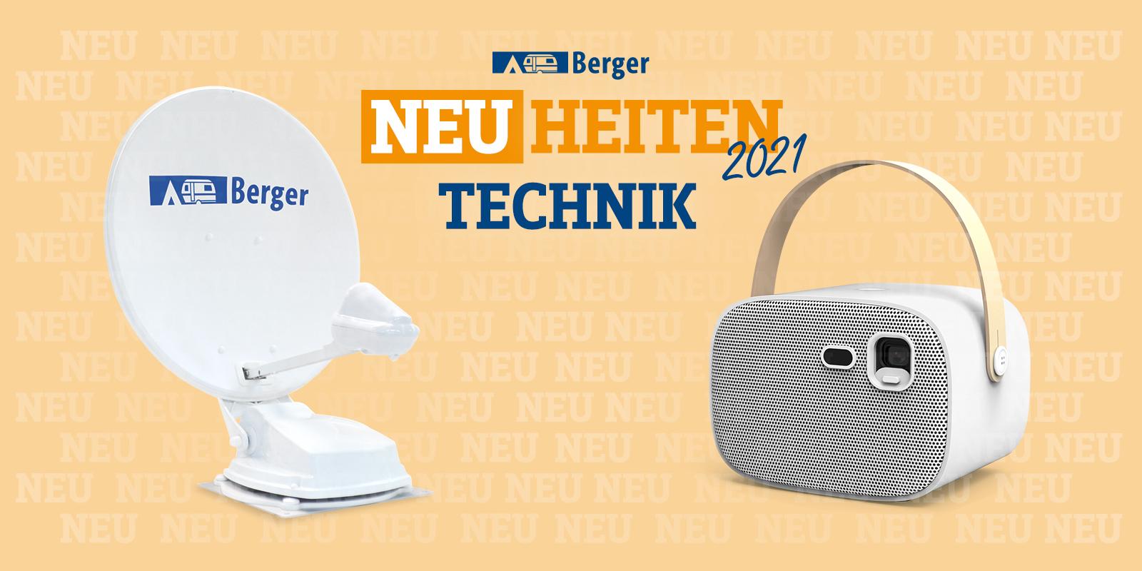 <span>Berger Neuheiten 2021: Technik</span>