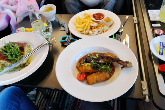 """""""Das Essen war weltklasse"""", teilte uns der Gewinner nach dem Dinner mit."""