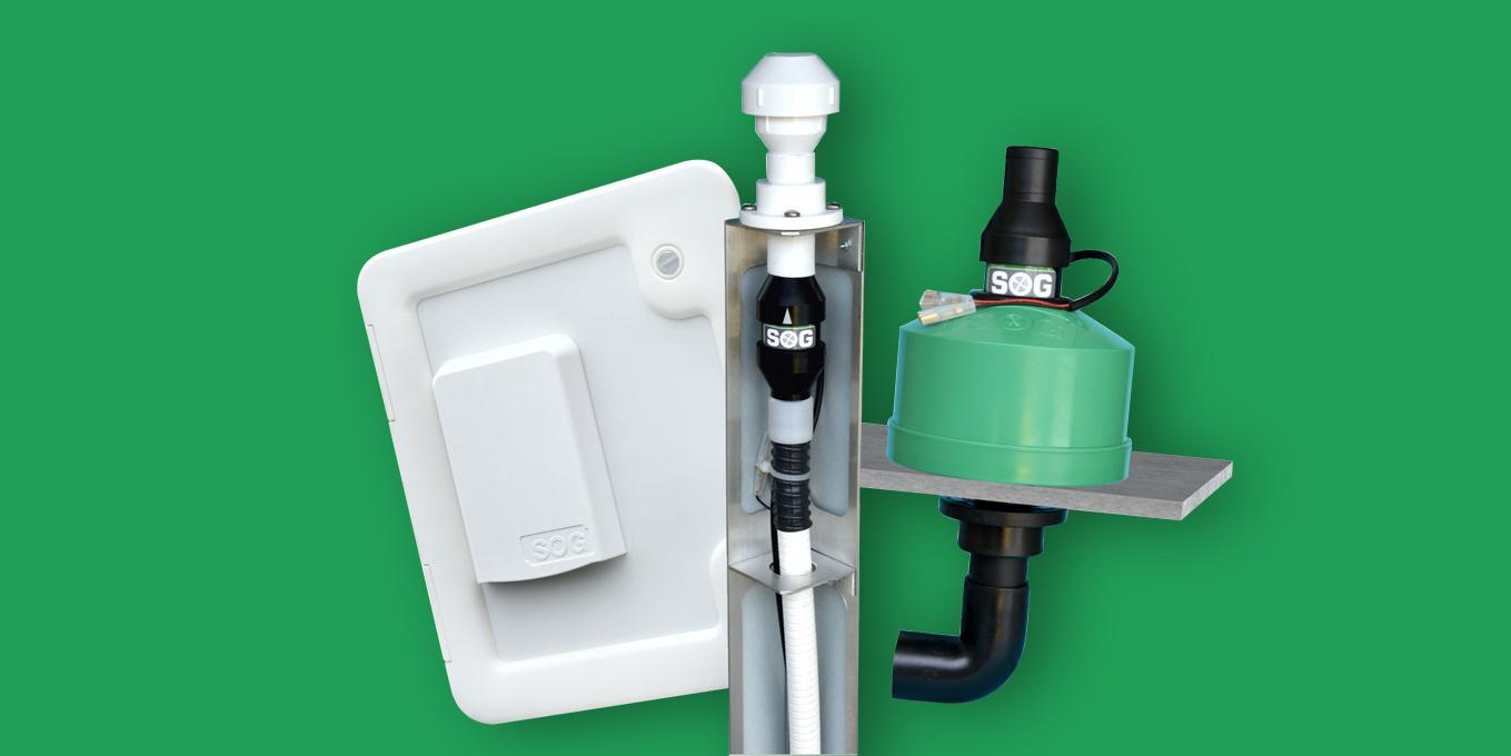 <span>SOG® Toilettenentlüftung: Geruchsfrei ohne Sanitärzusätze</span>