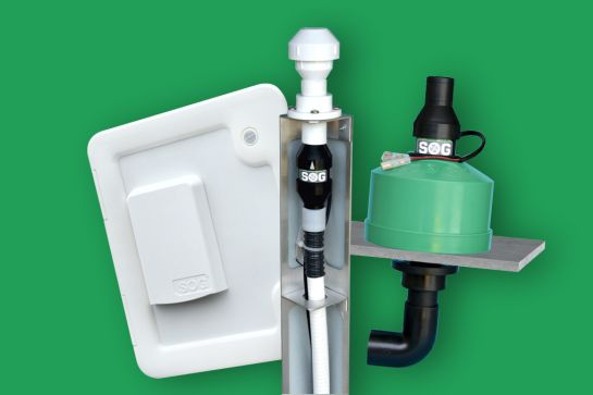 SOG® Toilettenentlüftung: Geruchsfrei ohne Sanitärzusätze