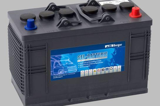 Blei-Gel-Batterien - wartungsarme Akkus mit höherem Gewicht
