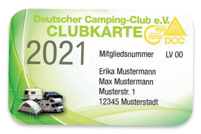 Deutscher Camping-Club e.V. Clubkarte