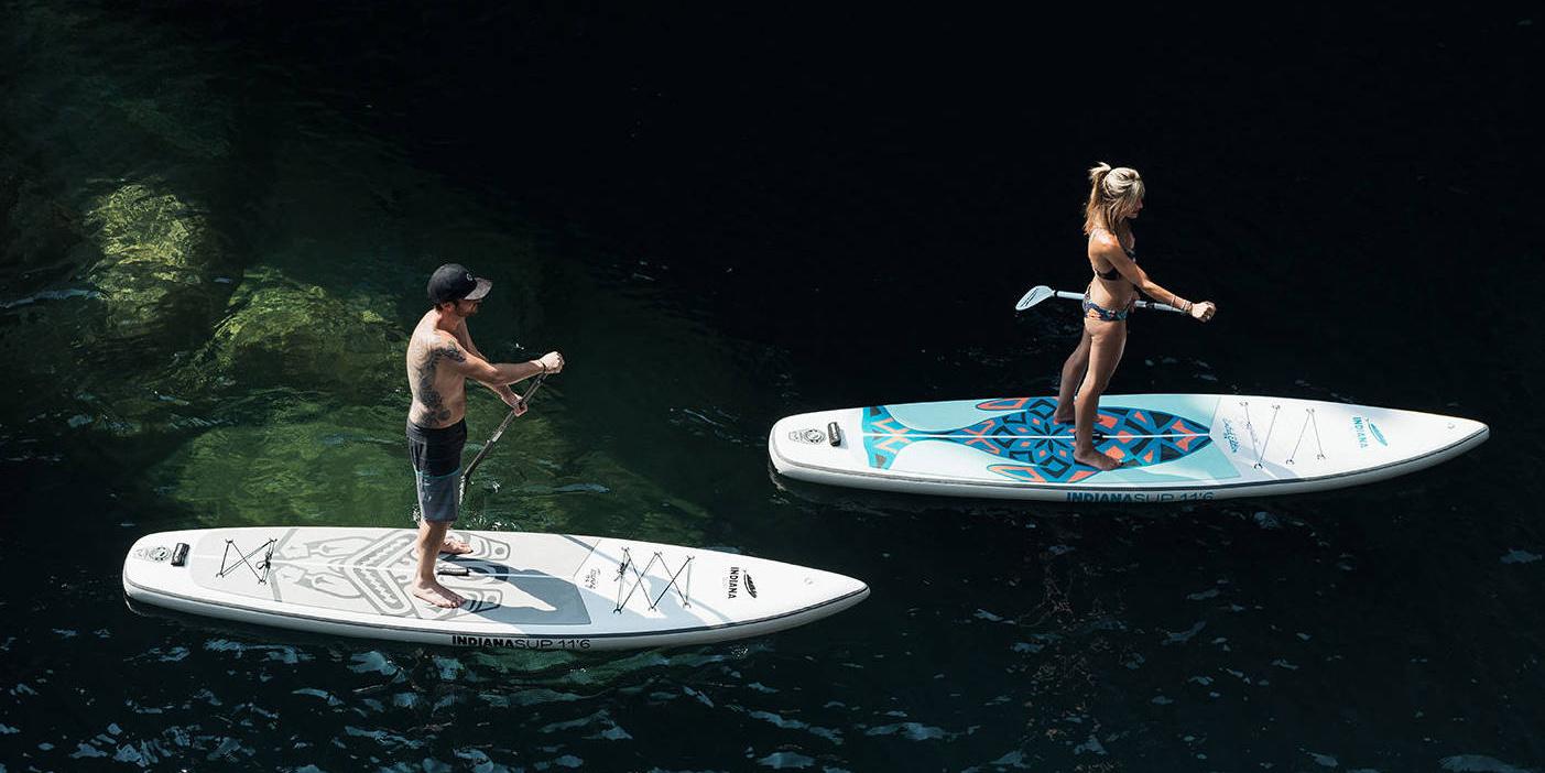 <span>Stand-up-Paddling: der ideale Wassersport für Camper</span>
