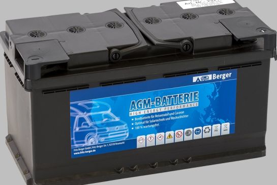 AGM-Batterie - ein Akku mit Power