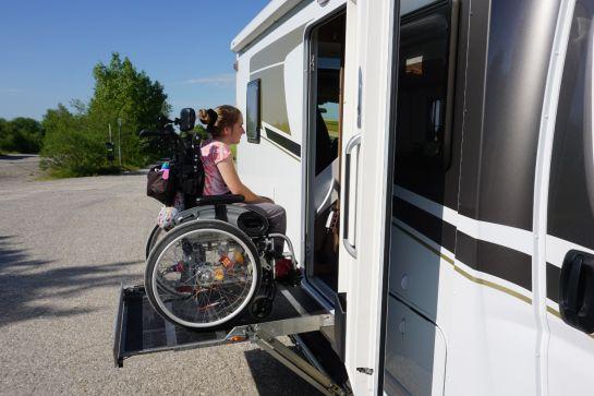 Behindertengerechter Campingurlaub