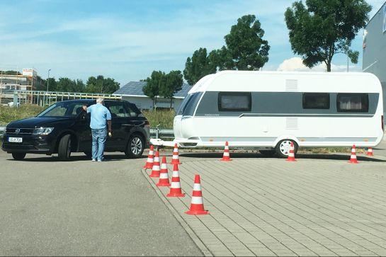 Der B96-Führerschein für Caravaner