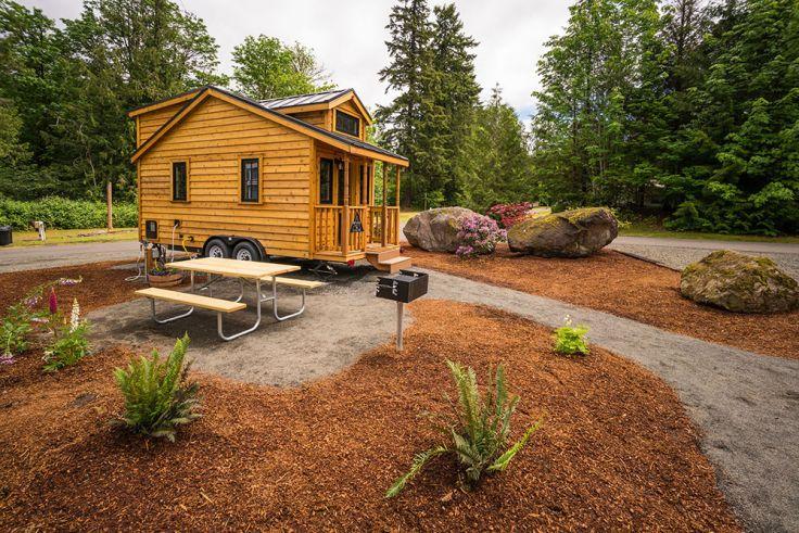 Tiny Houses mit Grill und Picknickplatz